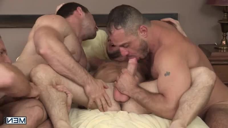 MEN - Hairy Tales 3 - Derek Bolt, Dirk Caber, Colton Grey, Marc Giacomo