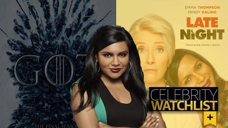 Mindy Kaling Reveals Her Watchlist
