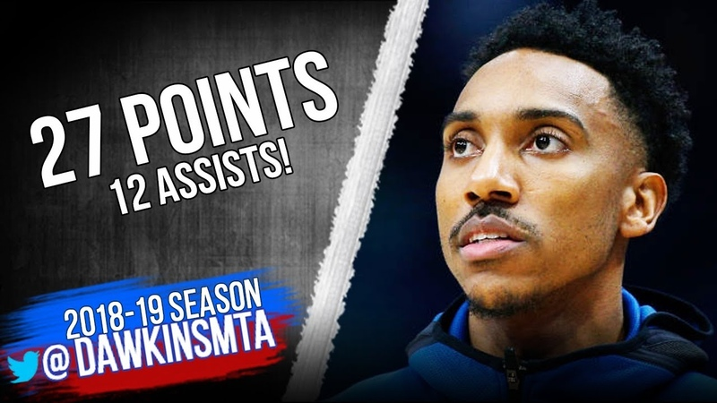 Jeff Teague Full Highlights 2019.02.13 TWolves vs Rockets - 27 Pts, 12 Assists! | FreeDawkins
