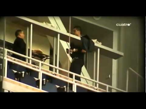 Cristiano Ronaldo Irina Shayk in Santigo Bernabeu