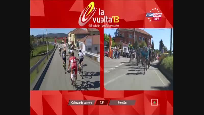 Vuelta 2013 stage 19 Сан-Висенте-де-ла-Баркера – Альто дель Наранко ᴖ