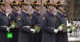 Президентский полк поздравил россиянок с 8 Марта