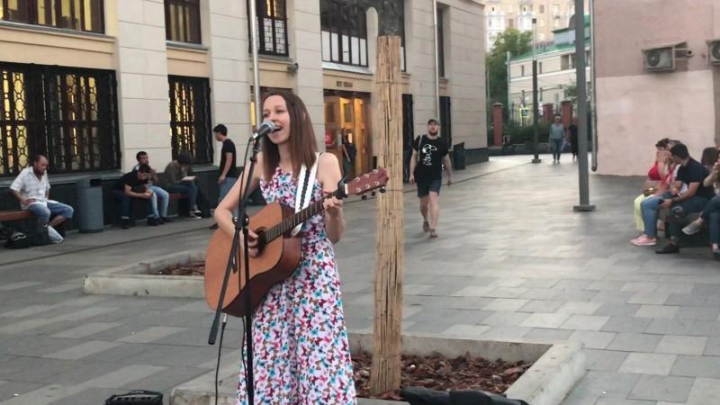 IRINA VETER - Какая Разница (кусок), 10/08/18, Москва, метро Таганская