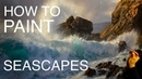 How to paint a seascape: EPISODE TWO | How to paint waves and water