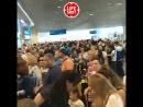 Сотни людей застряли у стоек регистрации аэропорта Домодедово