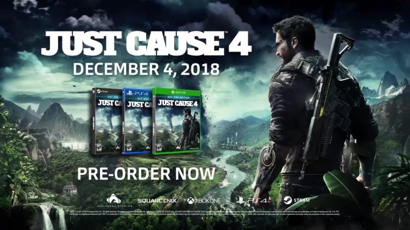Just Cause 4 - Official Reveal Trailer - E3 2018