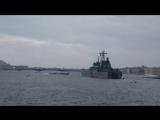 Залп пушки Петропавловской крепости
