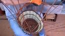 Come fare un manico di un cesto in salice