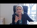 Marine Le Pen s'engage de nouveau contre le pacte mondial sur les migrations ! (05/12/2018)