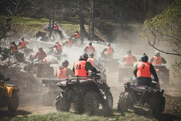 1 этап Чемпионата России по трофи-рейдам на ATV 2014