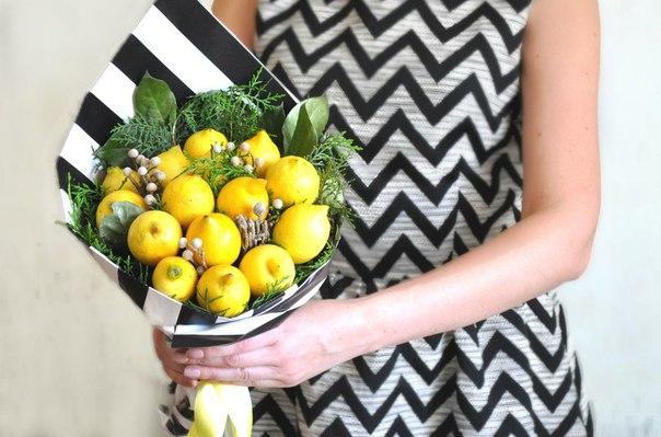 Как сделать букет из фруктов и овощей своими руками 34