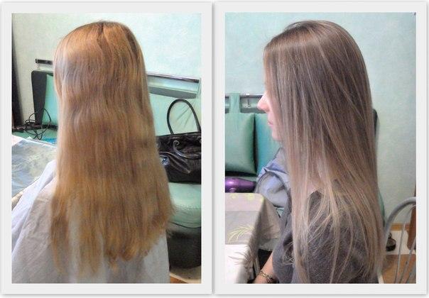 Формула тонирования обесцвеченных волос