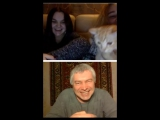 Мы сняли совместное видео в чате