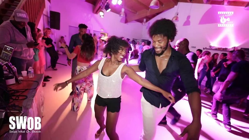Terry SalsAlianza Coco Corinne - social dancing @ SWOB 2018