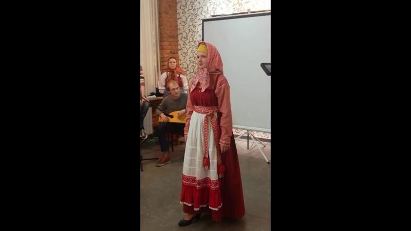 День фольклора в Артмузе