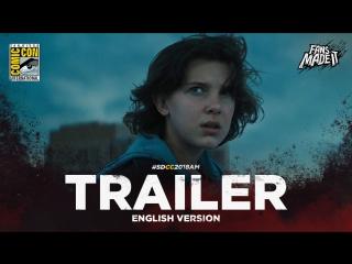 ENG | Трейлер: «Годзилла 2: Король монстров» / «Godzilla: King of the Monsters», 2018 | SDCC'18