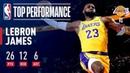 LeBron James Fills The Stat Sheet In Laker Debut | October 18, 2018 NBANews NBA Lakers LeBronJames