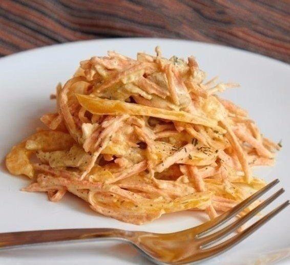 Салат с курицей, перцем и морковью Ингредиенты: ● Куриное