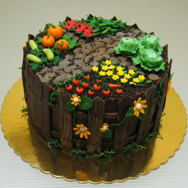 Торт на годик с короной фото 5