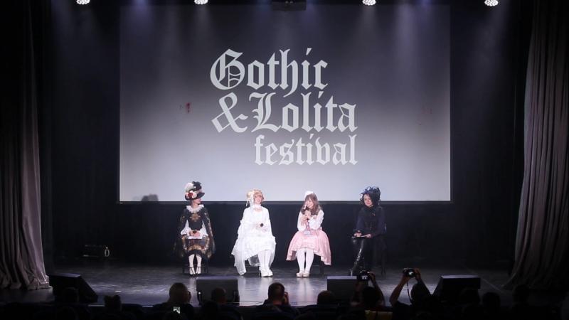 Показ японского бренда Metamorphose temps de fille, интервью с дизайнерами - GothicLolita Festival 2018