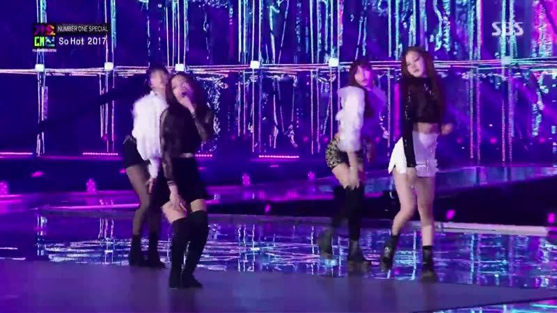 171225 BLACKPINK - SO HOT (THEBLACKLABEL Remix) in 2017 SBS Gayodaejun