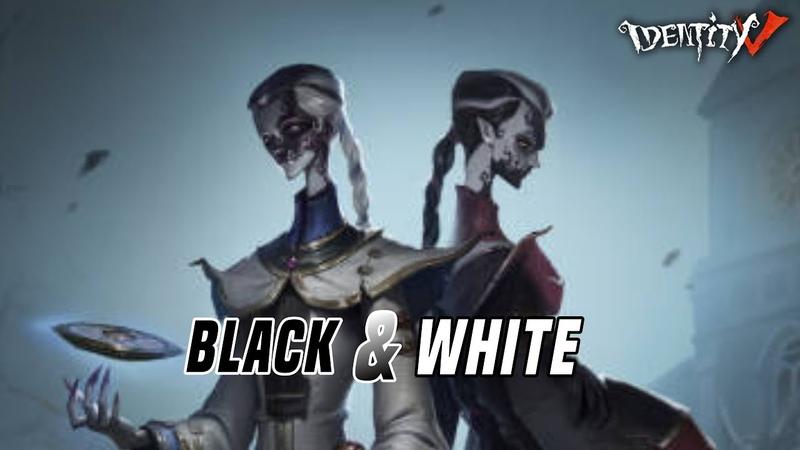 Identity V New Hunter Black e White, Wu Chang Spotlight, (第五人格) 寄魂于伞怨恨难消