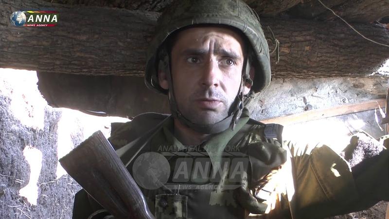 Боец НМ ДНР Паук о ситуации в районе Докучаевска