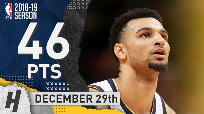 Jamal Murray Full Highlights Nuggets vs Suns 2018 12 29 46 Pts 8 Ast 6 Rebounds