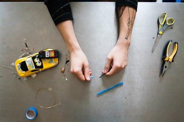 Как сделать тату машинку своими