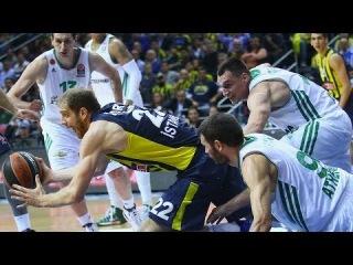 Highlights: Fenerbahce Ulker Istanbul-Panathinaikos Athens