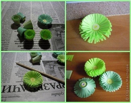 Как из бумаги сделать шар из цветов своими руками