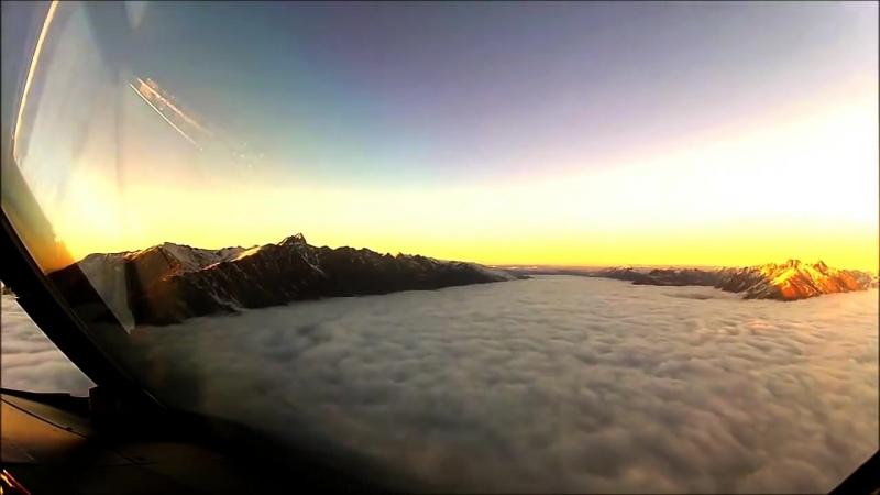 Видео из кабины пилота, которое не должны были видеть пассажиры