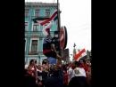 Нокаут хуйла в матче Россия Египет