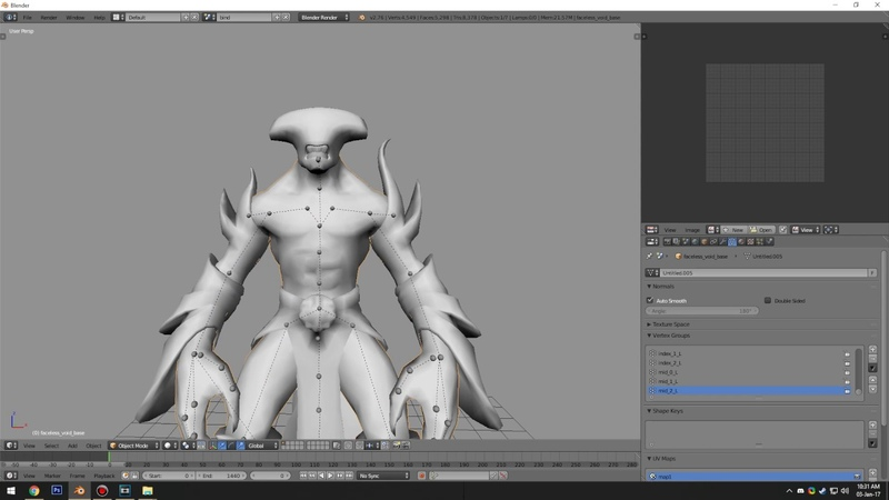 Source 2 Dota for Blender fixing skeletons and importing animations