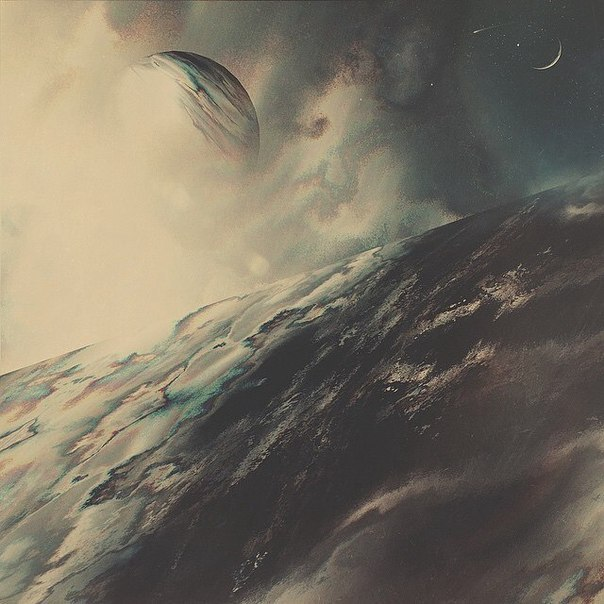 минутка космически-сюрреалистического арта. автор работ – tetra sky.