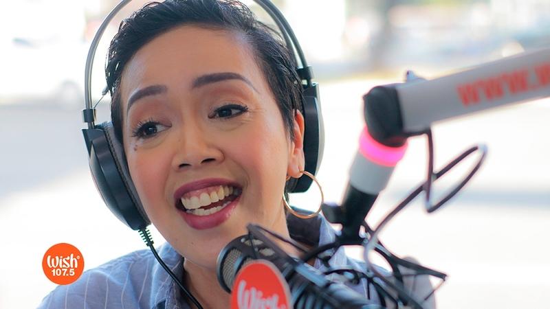 Kakai Bautista sings Isang Tanong, Isang Sagot (Donna Cruz) LIVE on Wish 107.5 Bus