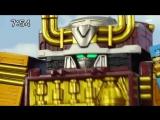 [dragonfox] Ressha Sentai ToQger - 13 (RUSUB)
