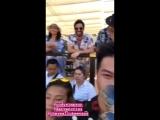 VIDEO Darren Criss, Cody Simpson Luke Evans at Mulia Rapture Summer Party via Mathwang Kies IG Story