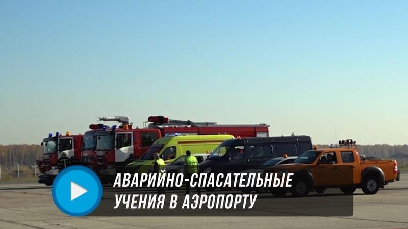 Учения в аэропорту Домодедово