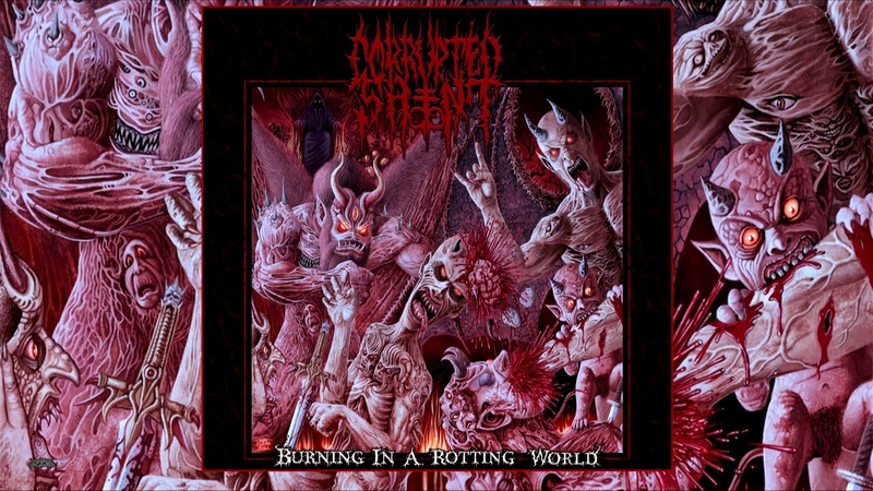 Corrupted Saint (USA) - Burning in a Rotting World 2019 Full EP