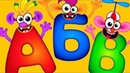 Супер Азбука для детей! Буквы! Алфавит для малышей Полная версия
