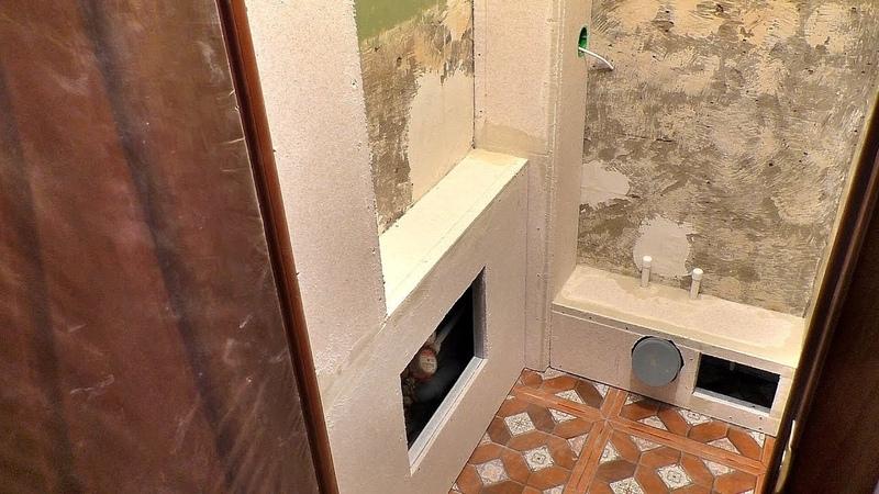 Как закрыть трубы в туалете под отделку пластиком и плиткой. Короб для труб за 2 часа своими руками!