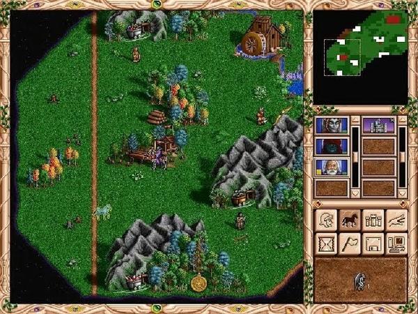 Взгляд в прошлое Выпуск 33 Heroes of Might and Magic II Долина Лорендейл 5