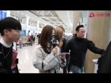 181005 JISOO, JENNIE, ROSE @ Incheon airport (Seoul, Korea) from Fukuoka airport (Japan)