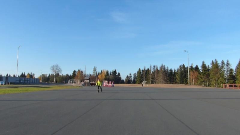Разминка на Кургане в г.Петрозаводске 14 октября 2018