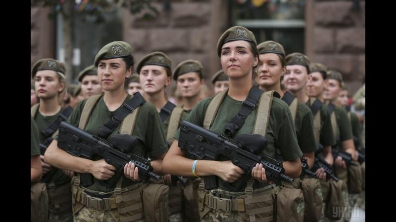Дівочий батальйон: Секрети підготовки до параду жінок-військових