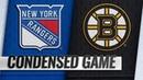 01 19 19 Condensed Game Rangers @ Bruins