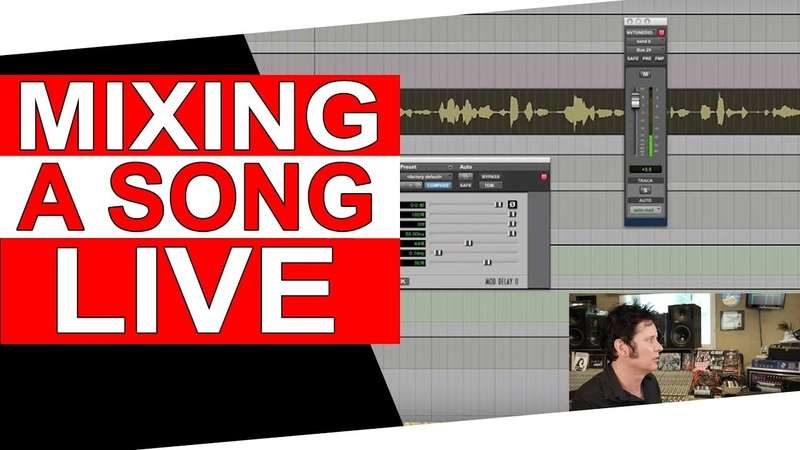 (Live) Mixing a song and QA - Warren Huart Produce Like A Pro