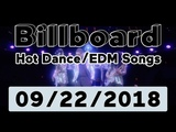 Billboard Top 50 Hot DanceElectronicEDM Songs (September 22, 2018)
