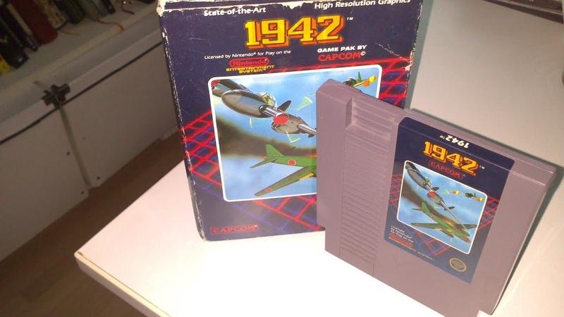 Серия Captain Challenge №2 Распаковка геймплей с комментариями игры 1942 nes
